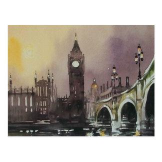 Big Ben London England Post Card