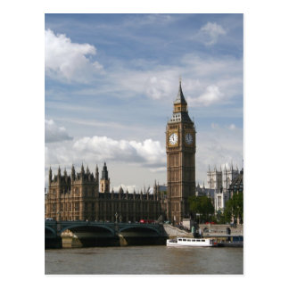 Big Ben, London, England Postcard