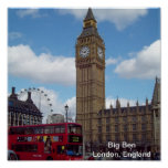 Big Ben London, England Print
