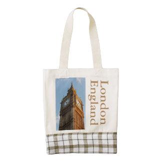 Big Ben London England Zazzle HEART Tote Bag