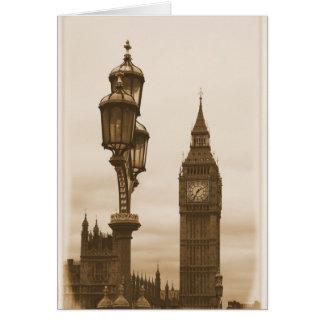 Big Ben - London Greeting Card