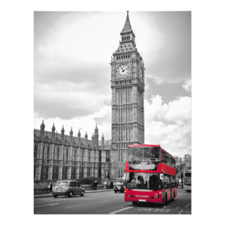 Big Ben London Custom Letterhead