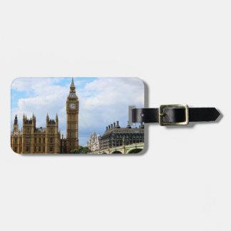 Big Ben London luggage tag