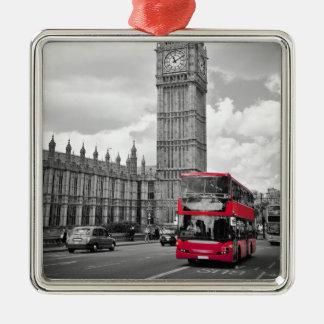 Big Ben London Metal Ornament