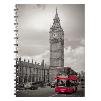 Big Ben London Notebook