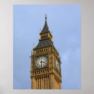 Big Ben, London Poster