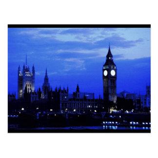 Big Ben London Skyline Post Card