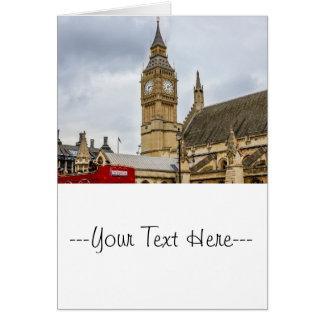 Big Ben London UK Card