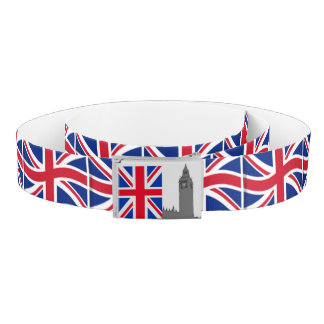 Big Ben London Union Jack Belt