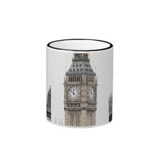 Big Ben London (Watercolour) Mugs