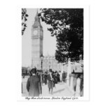 Big Ben Londres 1901 y casa del parlamento Tarjetas Postales