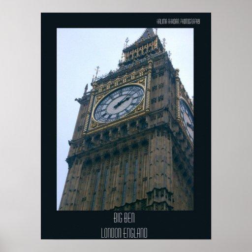 Big Ben Londres Halima Ahkdar 2004, Big Ben Lond… Posters