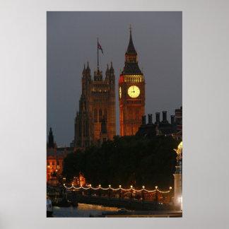 Big Ben Londres Inglaterra Posters