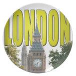 Big Ben Londres Inglaterra Platos De Comidas