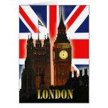 Big Ben, Londres, Inglaterra Tarjeta