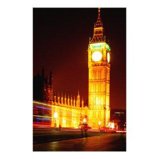 Big Ben, Londres Papelería De Diseño