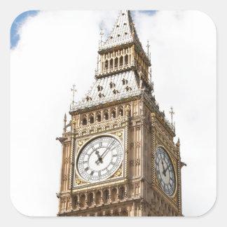 Big Ben Londres Pegatina Cuadrada