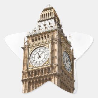 Big Ben Londres Pegatina En Forma De Estrella