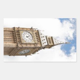 Big Ben Londres Pegatina Rectangular