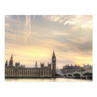 Big Ben, Londres Postal