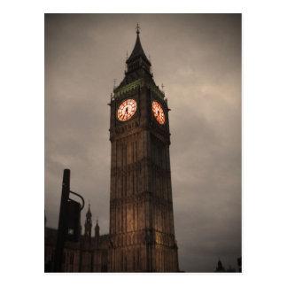 Big Ben, Londres Tarjeta Postal