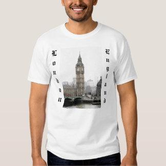 Big Ben Londres (Watercolour) Polera