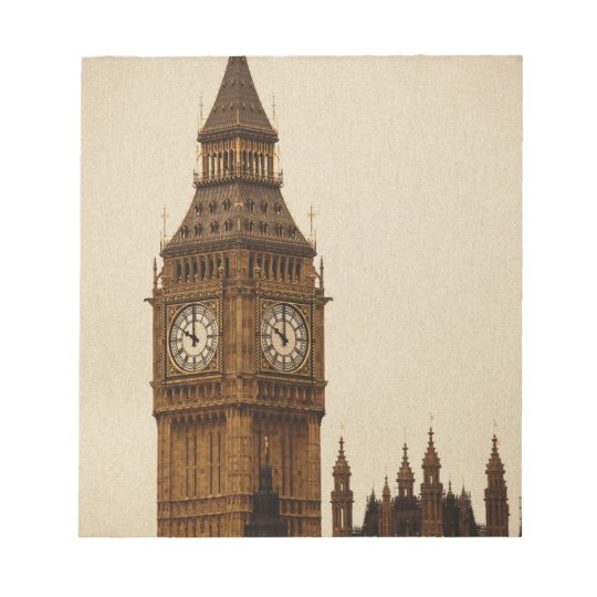 Big Ben Notepad