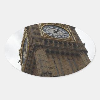 Big Ben Oval Sticker