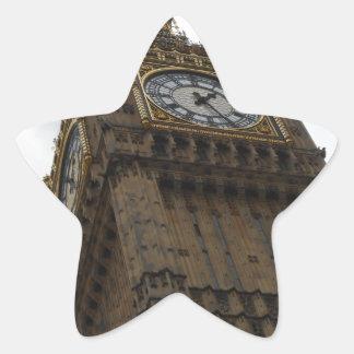Big Ben Pegatina En Forma De Estrella