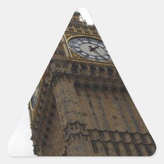 Big Ben Pegatina Triangular