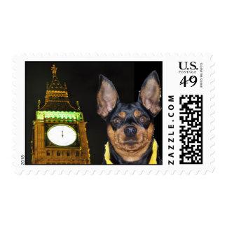 Big Ben/plantilla del pequeño perro Sello