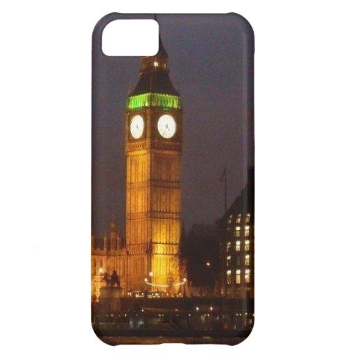 Big Ben por noche Funda Para iPhone 5C