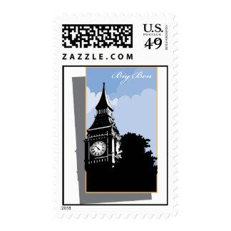 Big Ben Postage Stamps