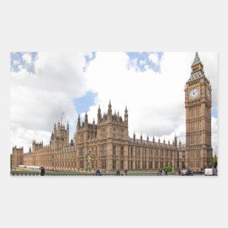 Big Ben Rectangular Sticker