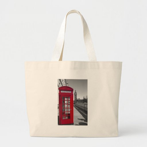 Big Ben Red Telephone box Bag