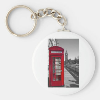 Big Ben Red Telephone box Keychain