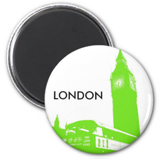 Big Ben Retro Magnet