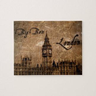 Big Ben, rompecabezas de Londres