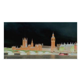 Big Ben/tarjeta de la foto de Londres de la abadía Tarjetas Personales
