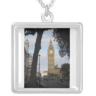 Big Ben Through the Trees Necklace