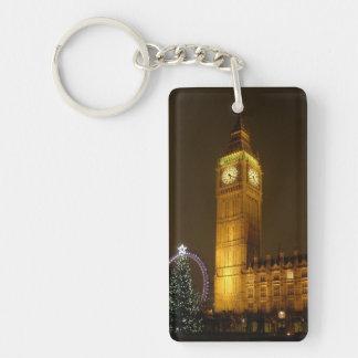 Big Ben tick Goodnight Keychain