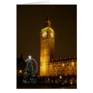 Big Ben ticks Goodnight Card