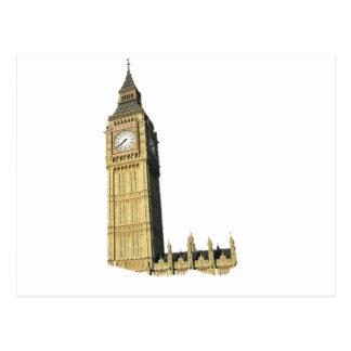Big Ben torre de reloj Londres Postales