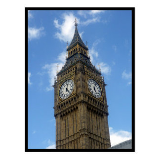 big ben tower border post cards