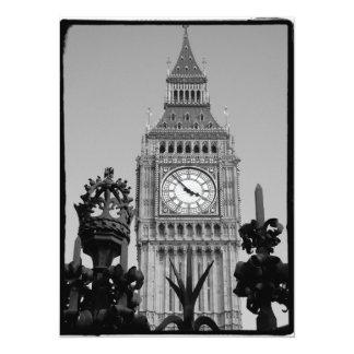 Big Ben Tower Card
