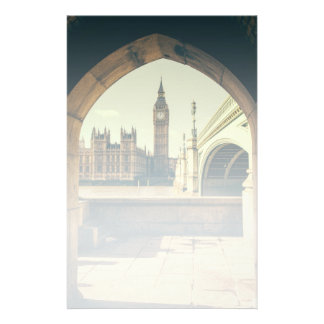 Big Ben Under The Arch, London UK. Stationery