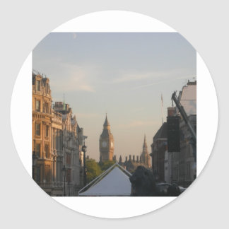 Big Ben - Westminister Classic Round Sticker