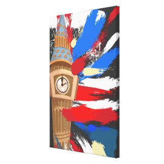 Big Ben Westminster Clock Tower Canvas Print