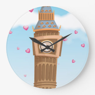Big Ben Westminster Clock Tower cartoon