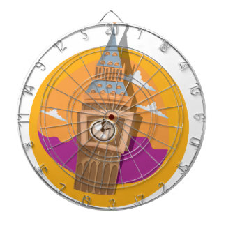 Big Ben Westminster Clock Tower Dart Boards